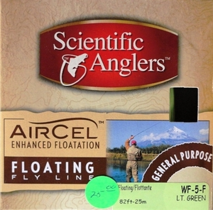 Scientific Anglers Aircel Floating Fly Line WF-5-F