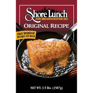 Shore Lunch 3.5lbs Original Breading/Batter SL-3