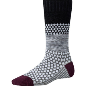 Women's Popcorn Cable Cushion Socks SW0SW793A
