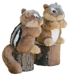 Stuffed Animal House Chipmunk  ch01