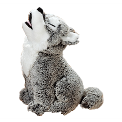 Stuffed Animal House - Howling Wolf hw11