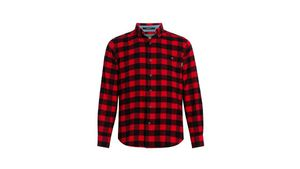 Woolrich Trout Run Flannel Plaid Flannel Shirt A6280