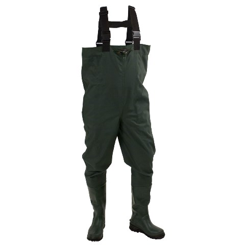 Cascades™ Poly / Rubber Cleated Bootfoot Chest Wader #2715243