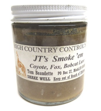 JT's Smoke 'em Coyote, Fox, Bobcat Lure - 4oz. #NSCHCL4