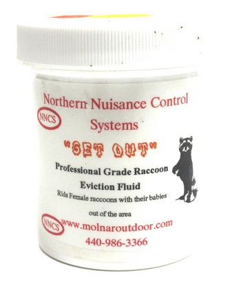 """NNC """"Get Out"""" Raccoon Eviction PASTE 4oz. #NNCREF4"""