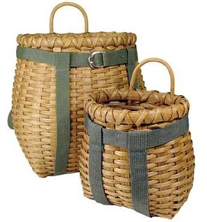 Mini Woven Pack Baskets #minibasket