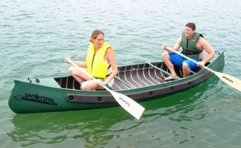 Sportspal 11' SQ. Stern Canoe Package  #S11SQ