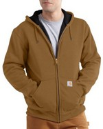 Carhartt Rutland Thermal-Lined Hooded Zip-Front Sweatshirt 100632