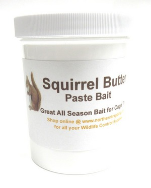 NNC Squirrel Butter Paste Bait 8 oz. nncs02