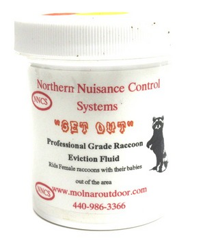 "NNC ""Get Out"" Raccoon Eviction Fluid 4oz. NNCREF4"