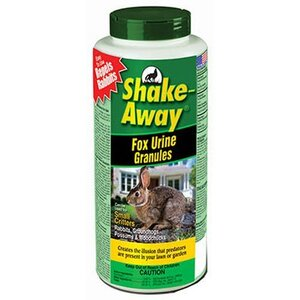 Shake-Away Fox Urine Granules - 2.2lbs NSCSAFUG