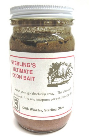 Sterling's Ultimate Raccoon Bait 8oz. NSCSUCB8