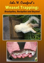 Weasel Trapping DVD by J.W. Crawford 0012215sale