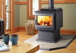 Wood Stove - Contemporary (F2400M) F2400M_Contemporary