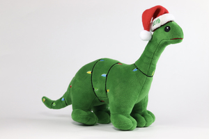 Holiday Plush Dino ChristmasPlush19