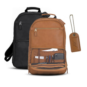 Natisino Leather Backpack LeatherBackpack