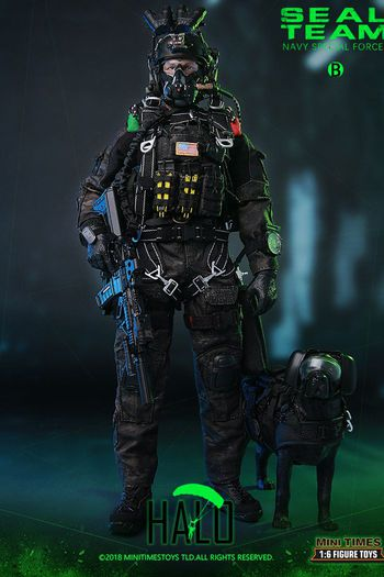 """Mini Times 1/6 Scale 12"""" Seal Team Navy Special Forces Action Figure MT-M013 #MT-M013"""