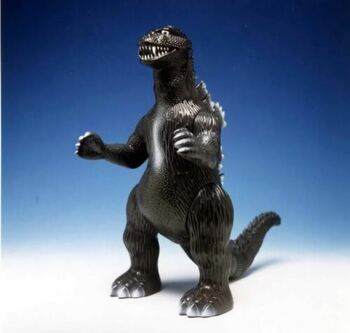 "Marusan 9"" Figure USA Version Soft Vinyl 1955 Godzilla #MAR-003"
