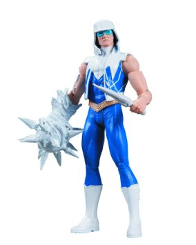 "DC Comics Collectibles Super Villains 7"" Captain Cold Action Figure #761941315409"