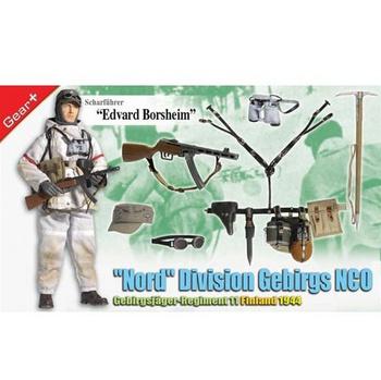 "Dragon Models WWII 1/6 scale 12"" German Soldier NCO Edvard Borsheim 70745 #70745"