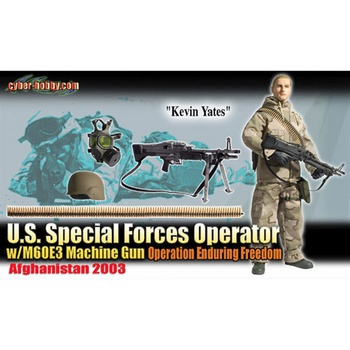 "Dragon 1/6 Scale 12"" Afghanistan US Special Forces Soldier Kevin Yates 70677 #70677"
