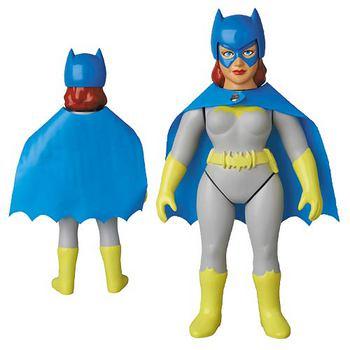 "Medicom DC Comics Retro Sofubi Collection 10"" Batgirl Soft Vinyl Action Figure #4530956466385"