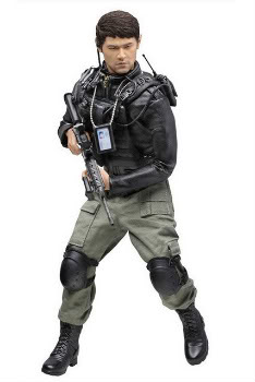 """Dragon 1/6 Scale 12"""" The Viral Factor Jay Chow Wan Fei Action Figure 73169 #73169"""