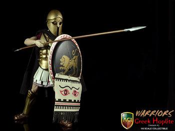 "ACI 1/6 Scale 12"" Warriors Greek Hoplite Bronze Helmet Version 17A Action Figure #17A"