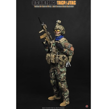 "Soldier Story 1/6 Scale 12"" US Air Force TACP/JTAC Tactical Air Control Action Figure SS075 #SS-075"