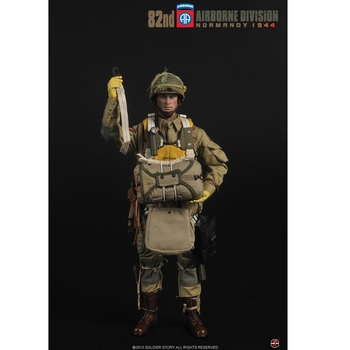 "Soldier Story 1/6 Scale 12"" WWII US 1944 82nd Airborne Action Figure SS-077 #SS-077"