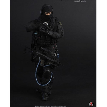 """Soldier Story 1/6 Scale 12"""" Special Duties Unit Assault Leader Action Figure SS-096 #SS-096"""