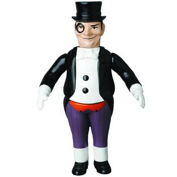 "Medicom DC Comics Originals Sofubi 10"" Retro Soft Vinyl Penguin Action Figure #4530956469775"