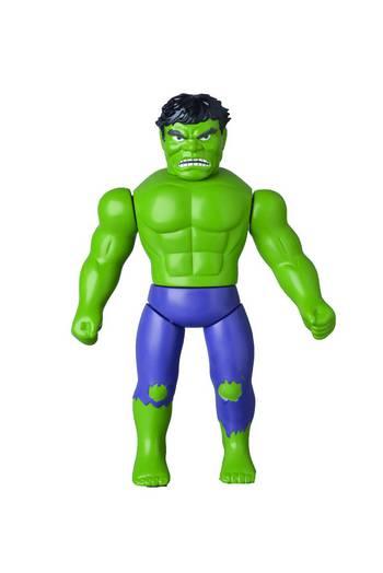 "Medicom Marvel Comics The Incredible Hulk Retro Sofubi 10"" Action Figure #601"