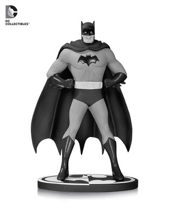 "DC Comics Collectibles Batman Black & White 7.75"" Statue By Dick Sprang #DC-17"
