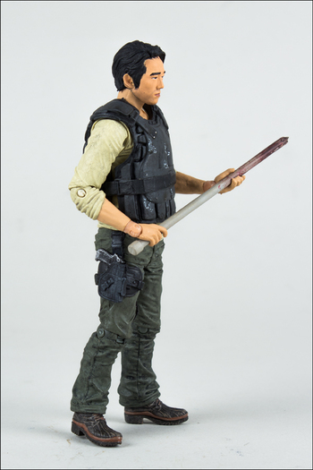 "McFarlane Toys Walking Dead TV Series 5 Glenn 5"" Action Figure 14531 #WD-018"