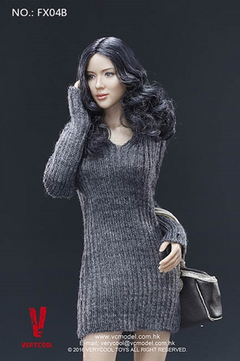 """Very Cool Toys 1/6 Scale 12"""" VC 3.0 Asian Female Body Set Action Figure FX04B #FX04B"""