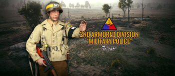 """DID 1/6 Scale 12"""" WWII 2nd Armored Division Military Police MP Bryan A80116 #A80116"""