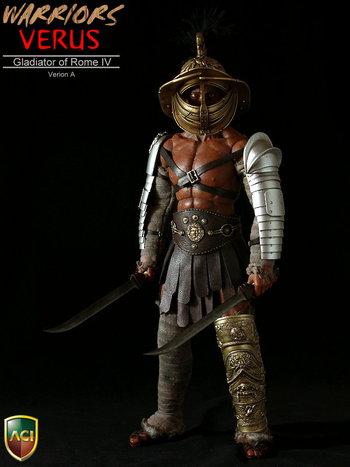 """ACI 1/6 Scale 12"""" Warrior Series Gladiators of Rome IV Verus A Figure ACI16A #ACI16A"""