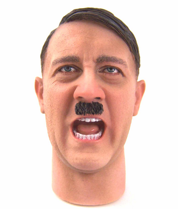 """DID 1/6 Scale Adolf Hitler Headsculpt for 12"""" Action Figure #3RAHHS1"""