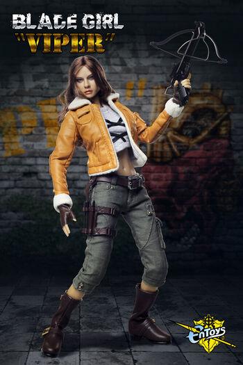 "ENToys En Toys 1/6 Scale 12"" Blade Girl Volume 2 Viper Action Figure ET-002 New #ET-002"