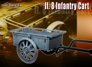 """Dragon WWII German 1/6 Scale If. 8 Infantry Cart for 12"""" Action Figures 71321 #71321"""