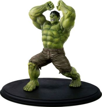 "Dragon Models The Avengers 1/9 Scale 13"" Hulk Action Hero Vignette 38105  #38105"