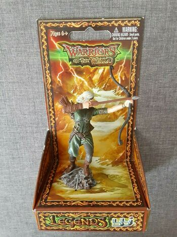BBI 90mm 1/18 Scale Warriors of The World Legends Elf Warrior Action Figure New #355