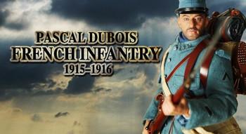 "DID 1/6 Scale 12"" WWI French Infantryman Pascal Dubois 11003 #11003"