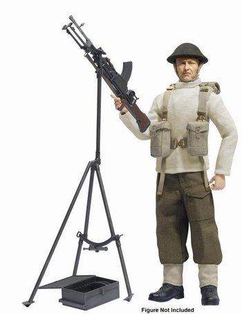 "Dragon Models 1/6 Scale 12"" British Bren Gun with Anti-Aircraft Tripod Kit 75030 #75030"