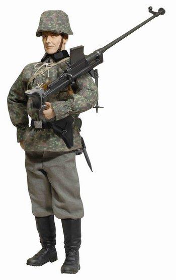 "Dragon 1/6 Scale 12"" WWII German Soldier Gunner Viktor Schmidt 70803 #70803"