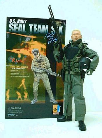 "Dragon Models Modern 1/6 scale US Navy Seal Team Six 12"" Figure Rick 72005 #72005"