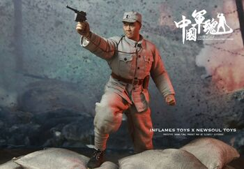 """Soldier Story 1/6 Scale 12"""" Iraq Special Ops Force ISOF SAW Gunner Action Figure SS-107 #SS-107"""