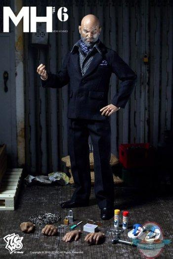 ZC World 1/6 Scale Mens Hommes Dark Blue Clothing Set VOL 006 #ZC-06