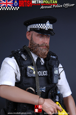 """Modeling Toys 1/6 Scale 12""""British Metropolitan Police Armed Officer MMS9002 BB-MMS9002"""